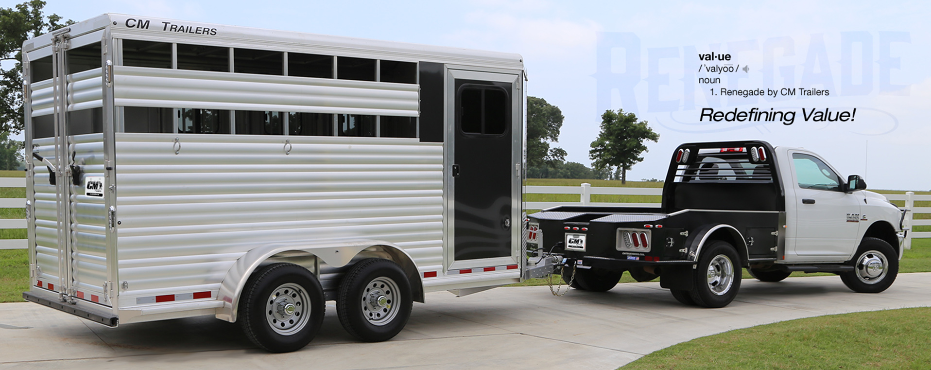 Cm Trailers All Aluminum Steel Horse Livestock Cargo Used Gooseneck Wiring Harness On Boxes